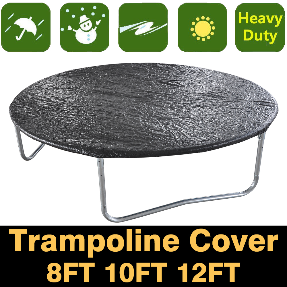 8ft 10ft 12ft Trampoline Universal Rain Dust Cover Weather