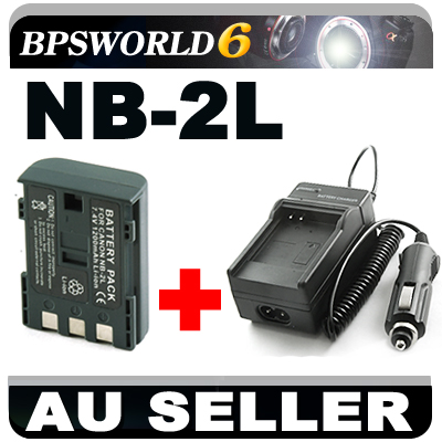 NEW-Battery-Charger-FOR-Canon-NB-2L-NB-2LH-EOS-350D-400D-POWERSHOT-G7-G9-S80-S90