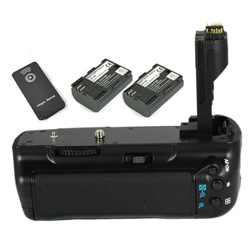 2x-LP-E6-Vertical-Battery-Hand-Grip-f-BG-E6-EOS-5D-Mark-II-BGE6-5D-MkII