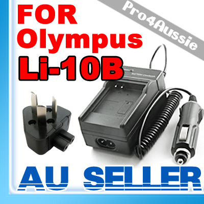 Battery-Charger-f-OLYMPUS-Digital-Camera-Li-10B-Li-12B-20-300-400-410-500