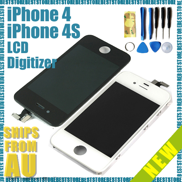 For-iPhone-4-4S-Replacement-LCD-Touch-Screen-Digitizer-Glass-Assembly-Tool-Kit