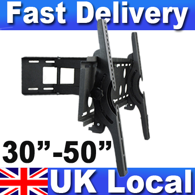 New-LCD-TV-Wall-Mount-Bracket-Tilt-swivel-ultra-slim-for-Plasma-LCD-10-60