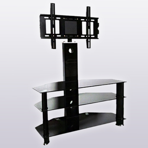 Brand-NEW-Glass-TV-Stand-with-Bracket-for-30-to-60-inches-Plasma-LCD-LED-TV