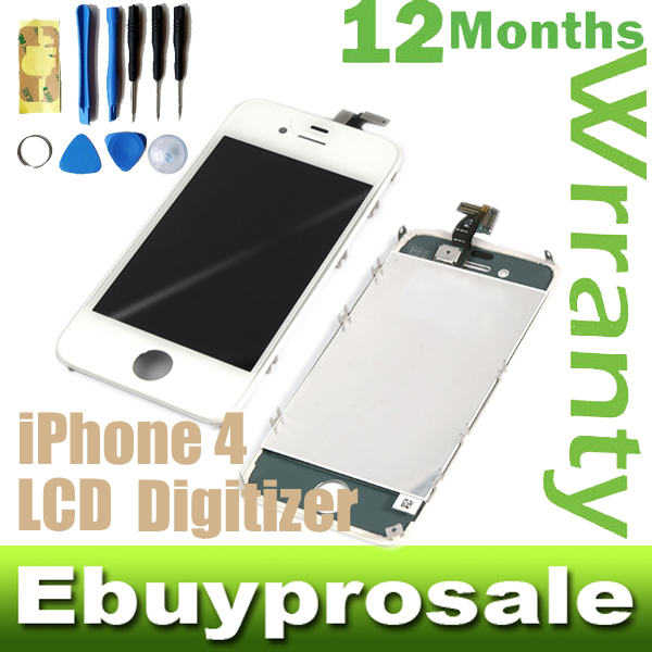 Digitizer-Front-Touch-Glass-Screen-Replacement-Repair-for-iPhone-4-Tool-kits