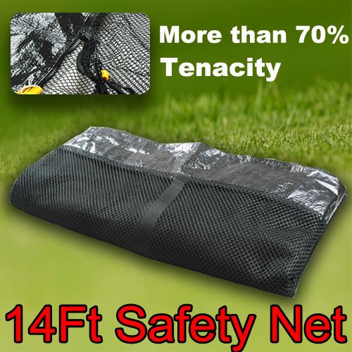 14FT-ROUND-TRAMPOLINE-SAFETY-NET-ENCLOSURE-ASSEMBLY-AU