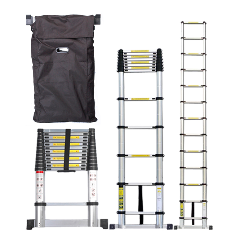 Telescoping Attic Ladder : Multi purpose extended telescopic ladder