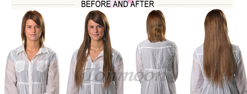 Tonmoon hair extensions clip in remy human hair extensions full full head clip in hair extensions pmusecretfo Images